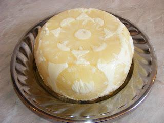 retete tort diplomat cu piscoturi frisca si fructe ananas,