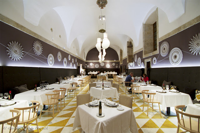 Restaurante del Parador Nacional de Corias