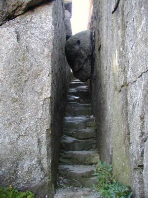 La scala naturale del Monte Old Rag