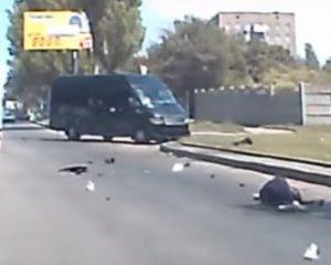 """Смертельна ДТП бойовика """"Вохи"""": у мережі з'явилося відео з моментом аварії"""
