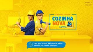 Concurso Cultural Cozinha Nova Com KM de Vantagens!
