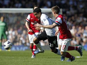 Fulham Arsenal Foto Ian KingstonAFP LANIMA20130420 0044 25
