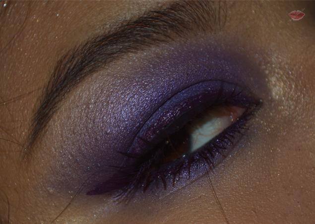 Smokey eyes viola con Lilac Wonder di Nabla e Chimera di Neve Cosmetics