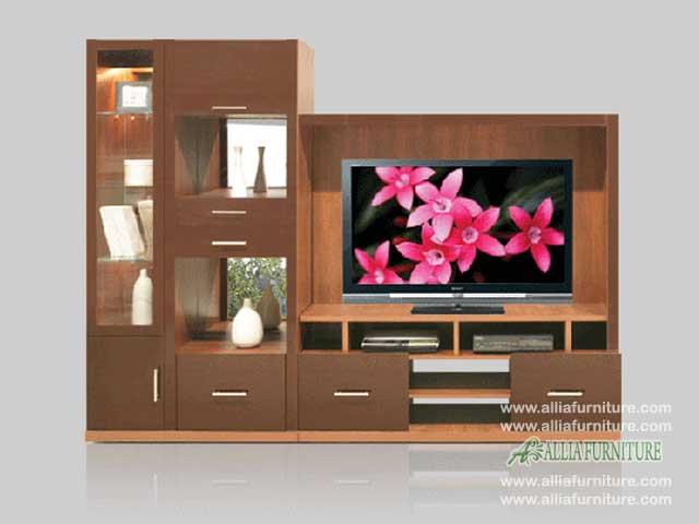 backdrop meja tv minimalis model palazo