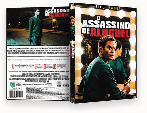 CAPA DVD – O Assassino de Aluguel – ISO