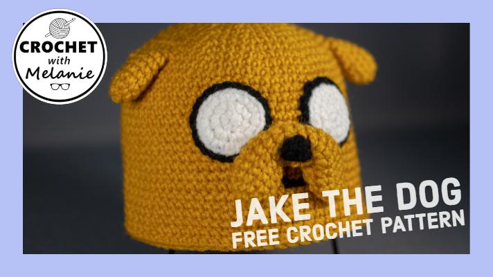 Jake The Dog Hat Free Crochet Pattern