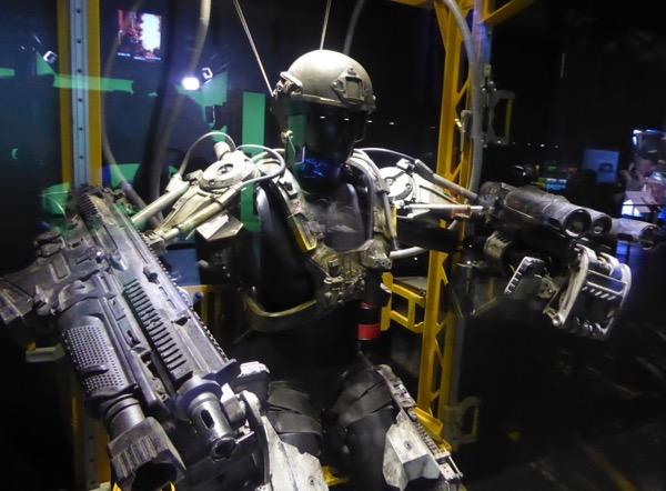 Edge of Tomorrow EXO Suit