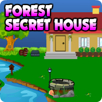 AvmGames Forest Secret House Escape Walkthrough