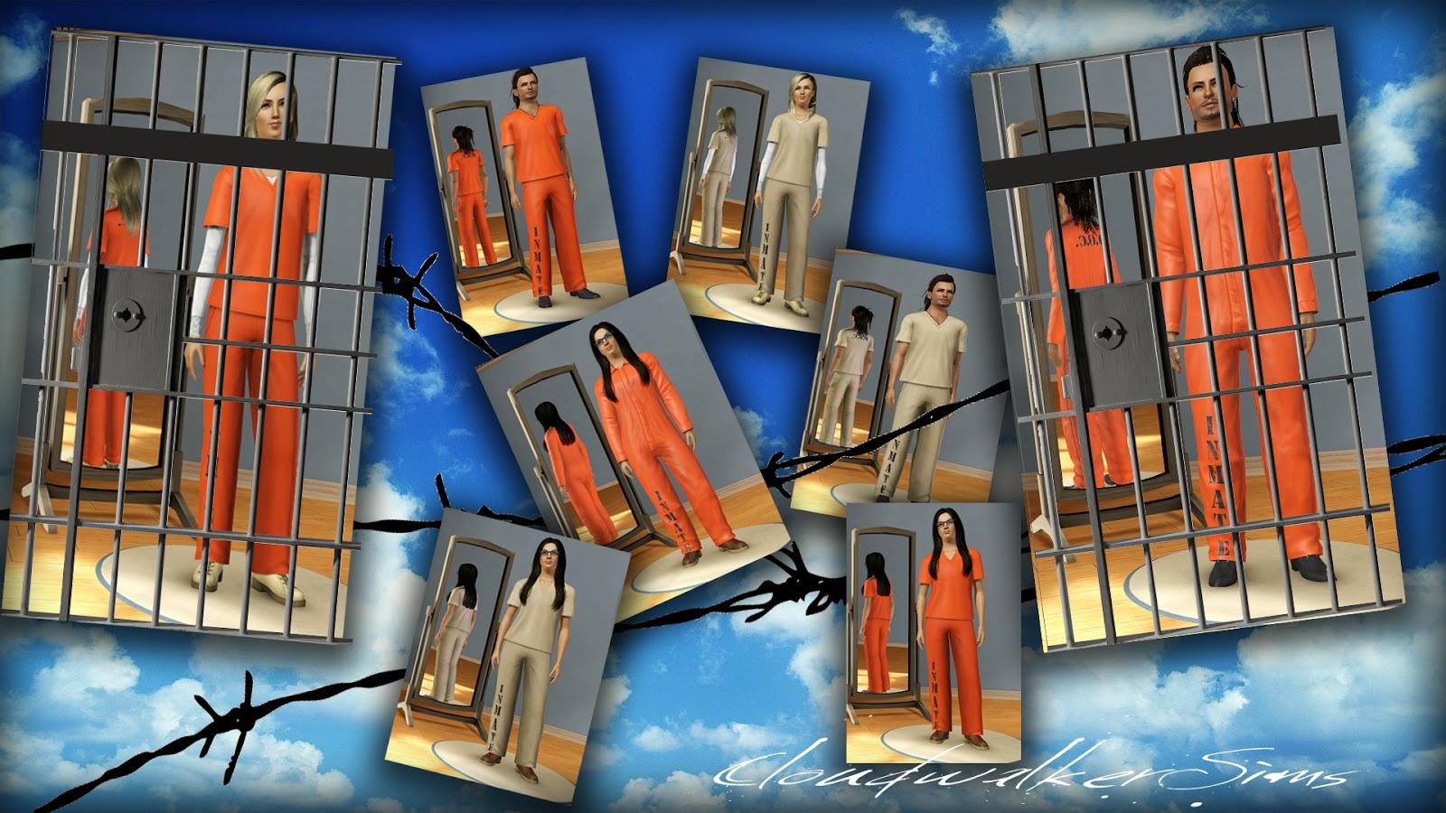 Sims 3 prison clothes