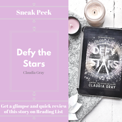 Defy the Stars by Claudia Gray  a Sneak Peek on Reading List