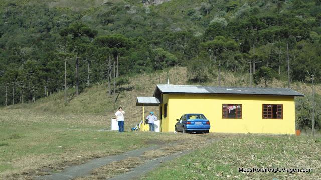Acesso ao Morro do Campestre - Urubici/SC