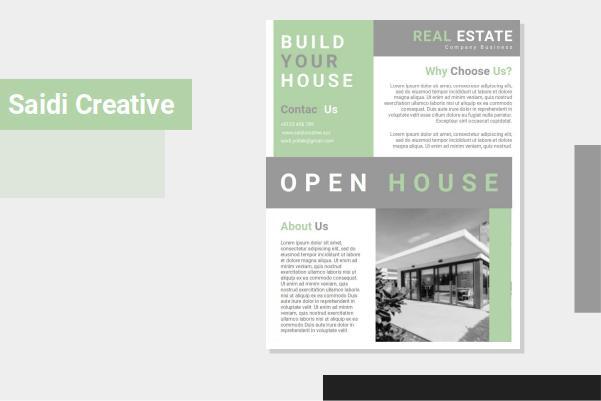 Free Open House Flyer Templates Word Document Fully Editable Saidi