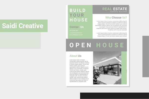Free Download Open House Flyer Templates Word Document Fully Editable