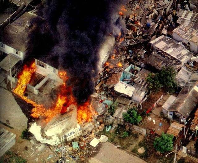 Desastre com 801 da Transbrasil