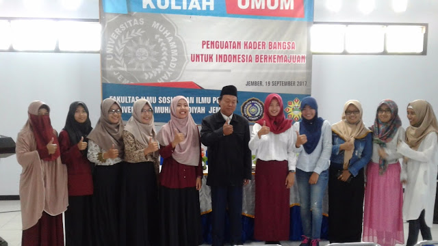 Kuliah Umum: Penguatan Kader Bangsa Untuk Indonesia Berkemajuan
