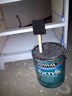 seal paint with polycrylic