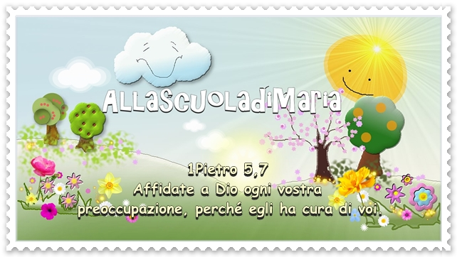 Preferenza Alla scuola di Maria: Buona giornata nella gioia del Signore! BQ93