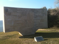 WWI monument at Gallipoli