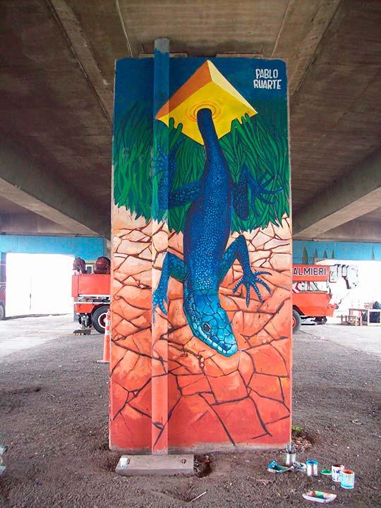 Arte urbano de Pablo Ruarte