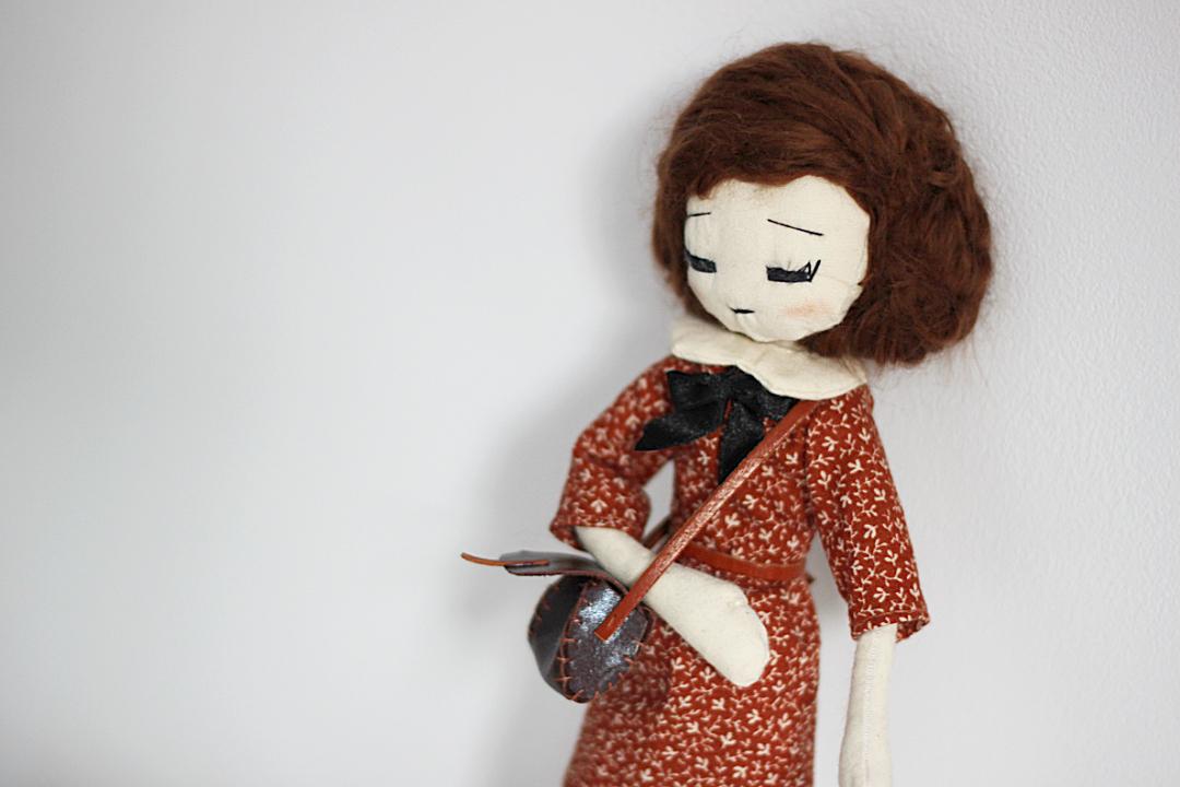 ooak doll lalka dla dziecka rękodzieło handmade diy