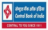 Central Bank of India Recruitment 2017, www.centralbankofindia.co.in