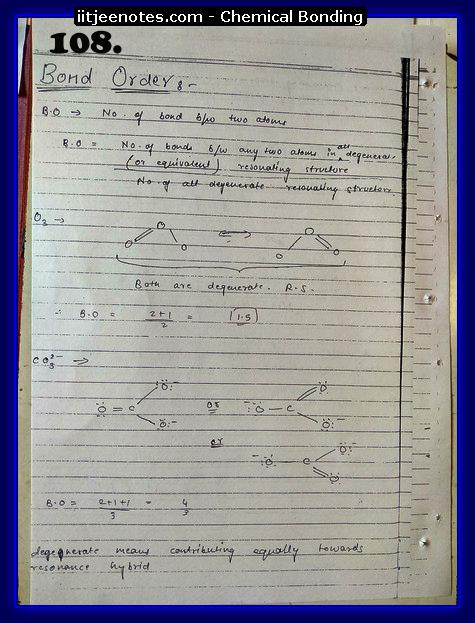 Chemical-Bonding Notes class 11-12