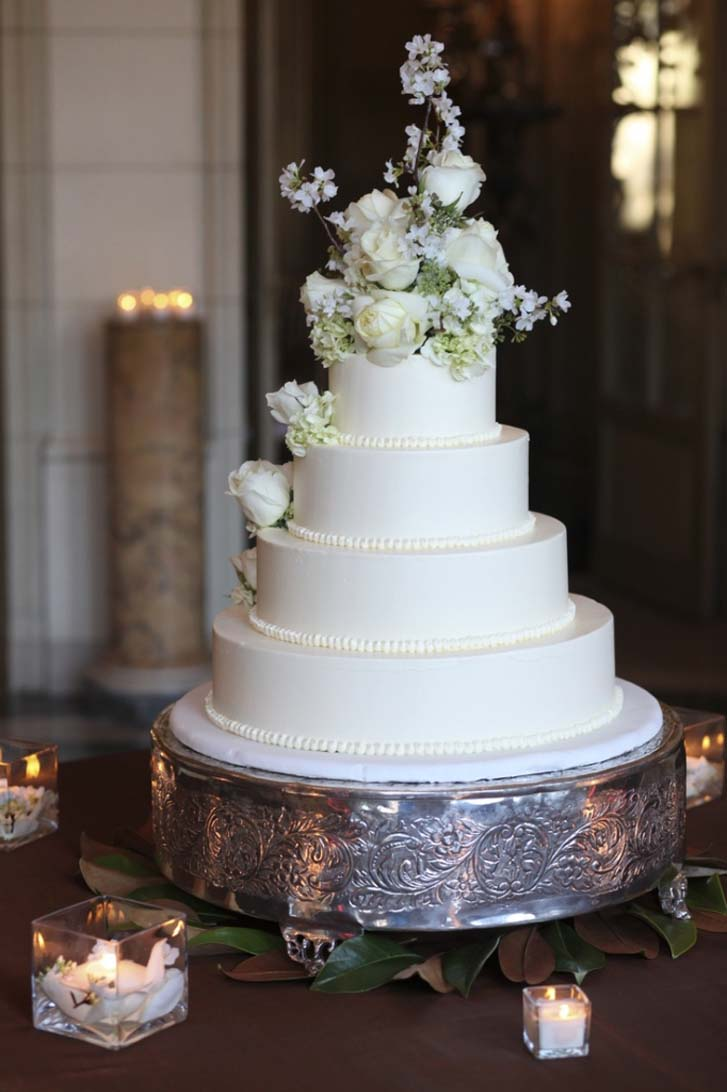 Awesome 4 Tier Wedding Cake