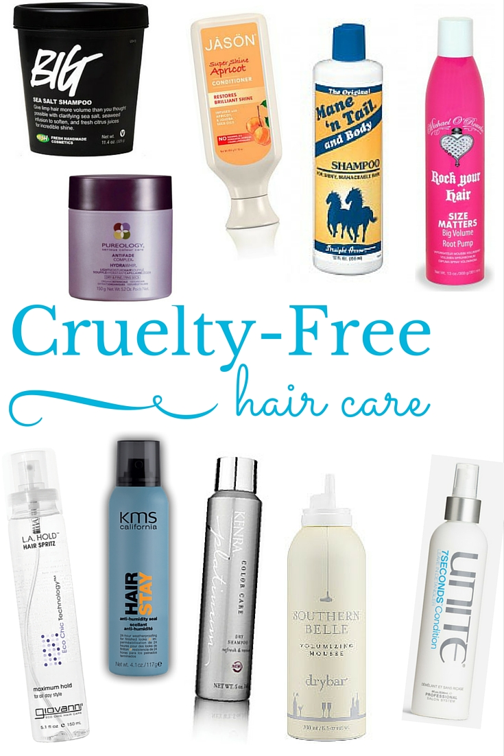 Cruelty Free Fashion Runways Cruelty Free Fashion: Cruelty Free Hair Care [ Not Entirely Perfect ]
