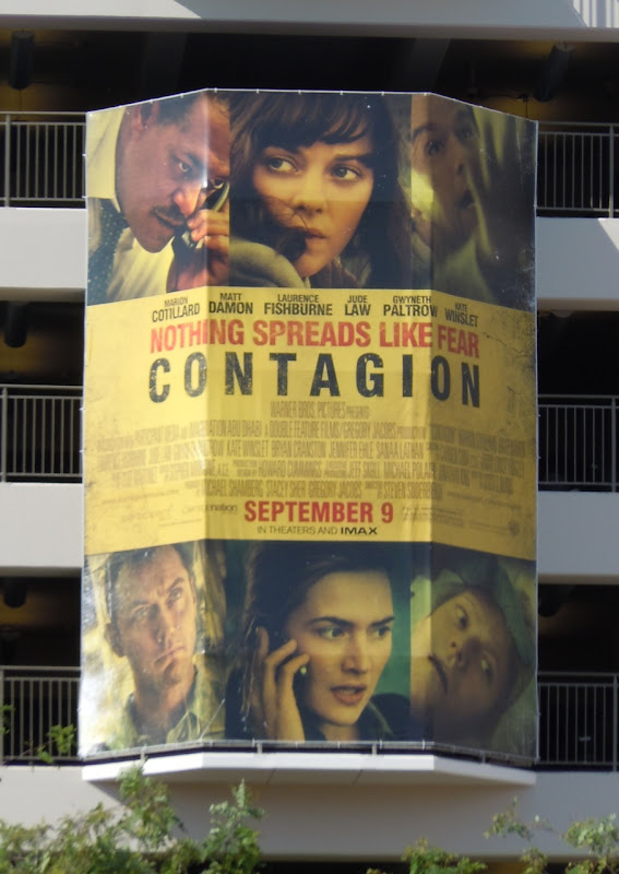Contagion film billboard