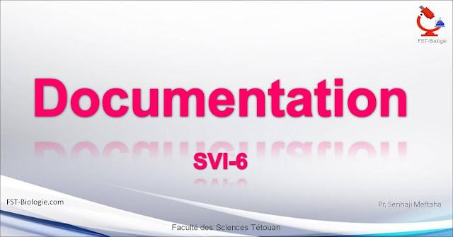 Documentation SVI6 Cours de Documentation SVI S6 pdf à télécharger cours de documentation svi s6 pdf a telecharger rédaction scientifique s6 rédaction du PDF mémoire de licence de master de doctorat thèse rédaction pfe régle de documentation