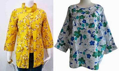 25 Model Baju Batik Untuk Orang Gemuk Agar Terlihat Langsing 2018