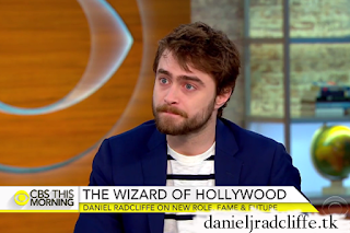 Updated: Daniel Radcliffe on CBS This Morning