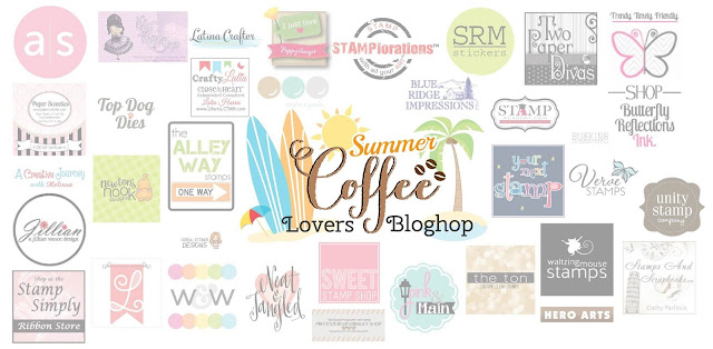 Summer Coffee Lovers Blog Hop Super Sponsors