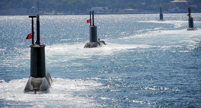El intento de sabotaje en submarino de la Armada Turca