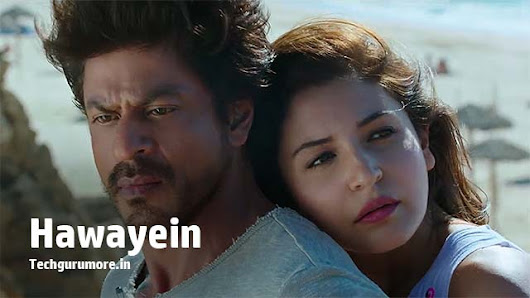 Hawayein Arijit Singh Piano Notes - Jab Harry Met Sejal