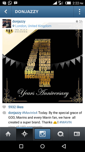 Mavin Celebrates 4th Anniversary Today