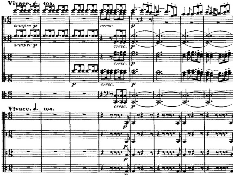 Beethoven Liszt Symphony 7 Piano Sheet Music
