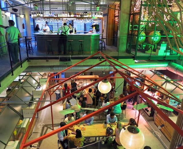 Mercado San Ildefonso_panorámica