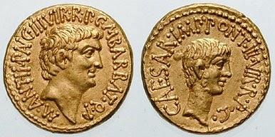 Moneda romana y testamento