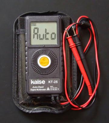 Kaise KT-25 デジタルマルチメーター(オートマチックデジタルマルチテスター)
