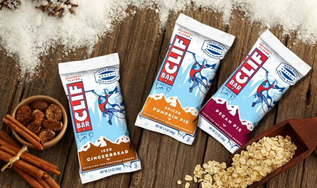 Flavors of clif bars