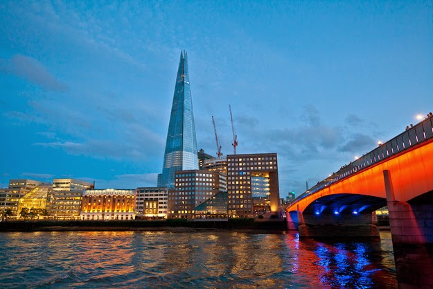9. The Shard - London, England, United Kingdom - 12 Breathtaking Views From The World's Coolest Towers