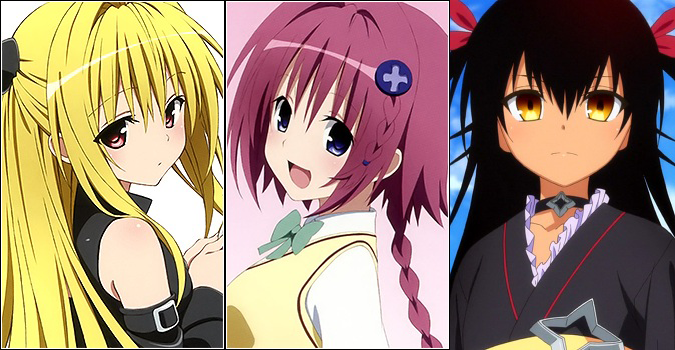 Idade das personagens de To Love Ru