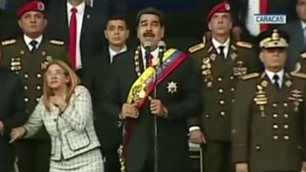 Venezuelan President Nicolas Maduro survives assassination attempt