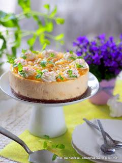 sernik gruszkowy, gruszki, wielkanoc, wielkanocne desery, ciasto na wielkanoc, wielkanocne przepisy