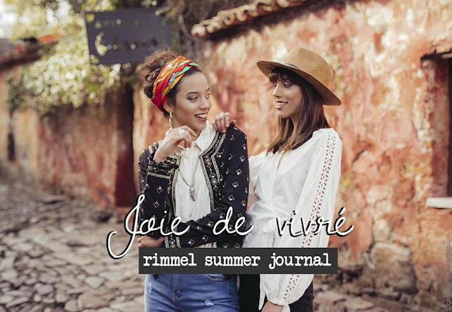 Colección Rimmel primavera verano 2019. Ropa de mujer moda primavera verano 2019.