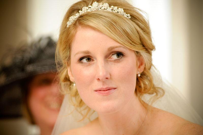 Wedding Hair With Veil And Tiara