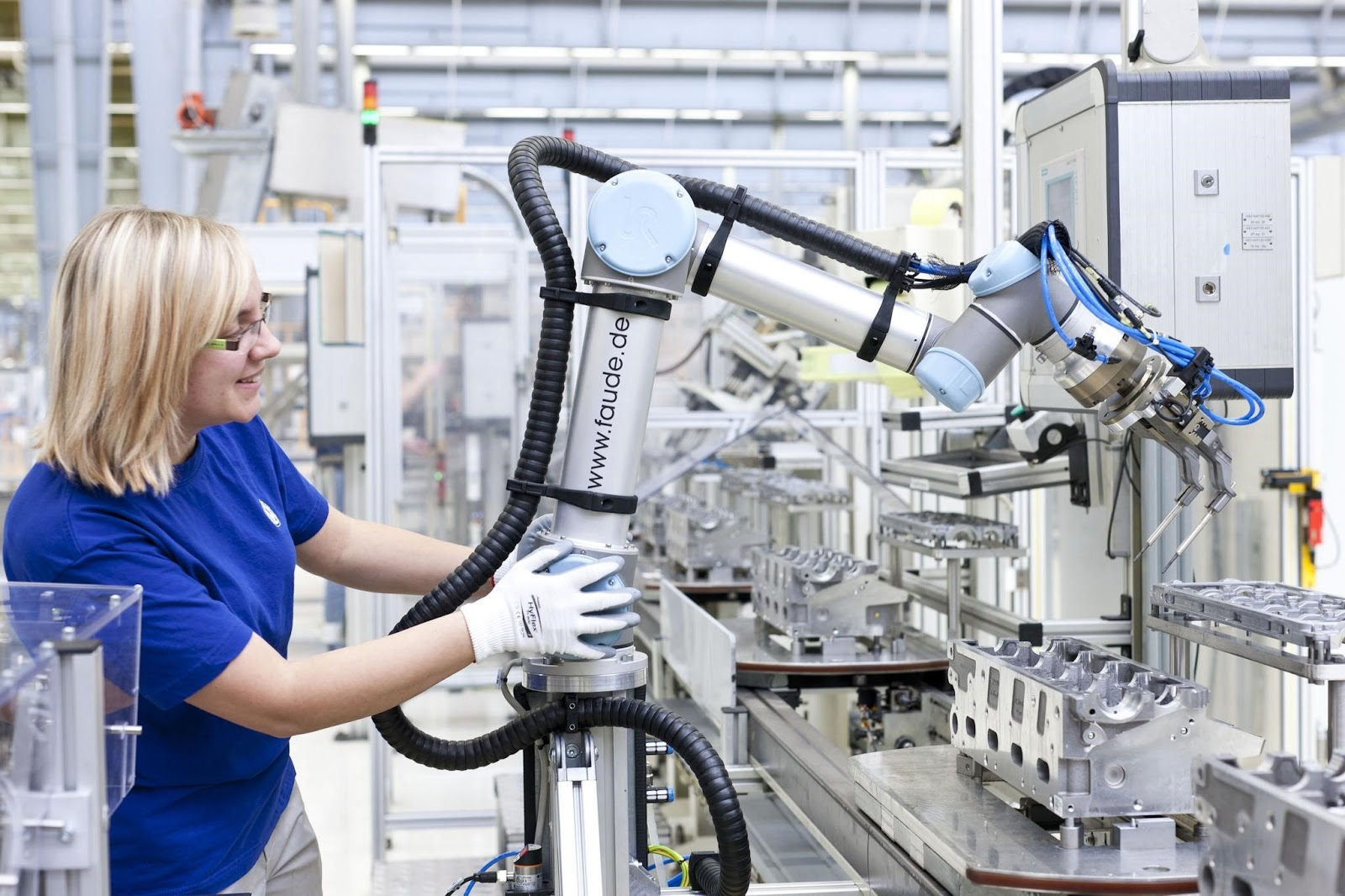 Exploiting Industrial Collaborative Robots
