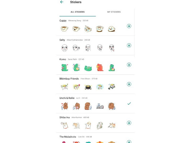 How to use, download and manage stickers in WhatsApp
