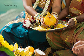 coconut is offered to the Deity